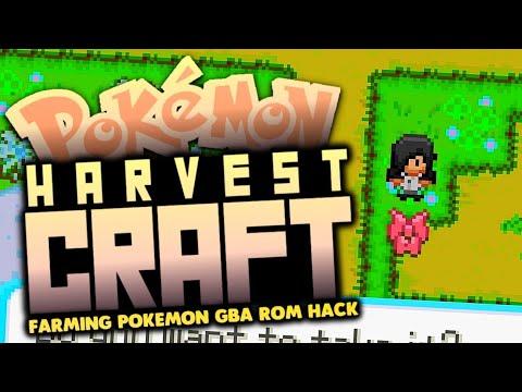 A Pokemon Farming Gba Rom Hack Game [Harvest Moon and Pokemon in One Game] -Pokemon HarvestCraft