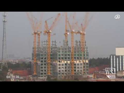 Timelapse 57-storey skyscraper built in China in 19 days||ZOOMING STUDIO
