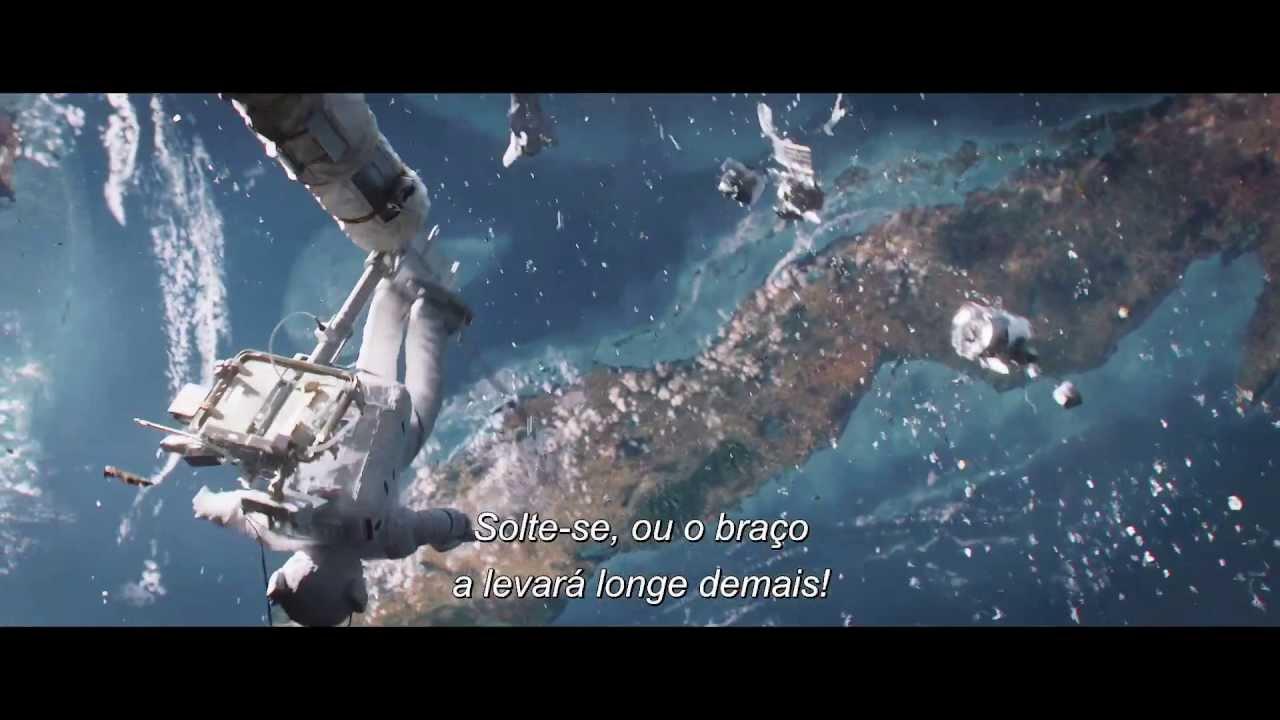 Gravidade  Trailer Final Oficial leg HD  11 de