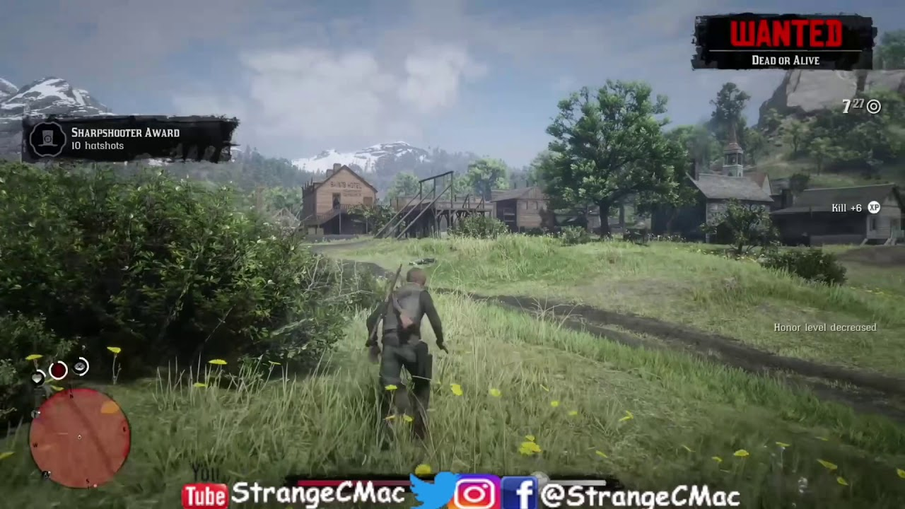 Red Dead Redemption 2 Online How To Get A Instant Kill Every Time Youtube