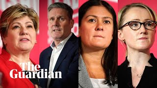 Who are the Labour leadership candidates?
