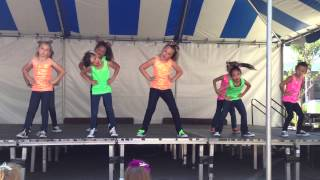 Hip hop group (ages 7-13) dancing to Don