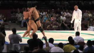 2008 US SUMO OPEN - Byamba vs. Petar