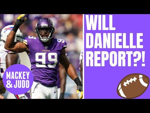 Will Danielle Hunter report to Minnesota Vikings mandatory minicamp?