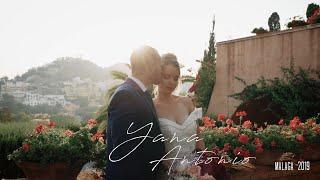 Yana&Antonio. Una boda espectacular en Castillo Santa Catalina, Málaga