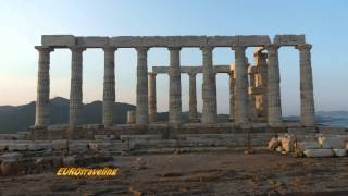 Cape Sounion - Temple of Poseidon - スニオン岬 - ポセイドンの神殿