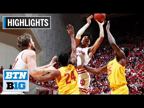Highlights: Late Smith Bucket Lifts Terps to Win   Maryland at Indiana   Jan. 26, 2020