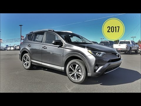 2017 Toyota Rav4 XLE SUV In Depth Review & Feature Tutorial