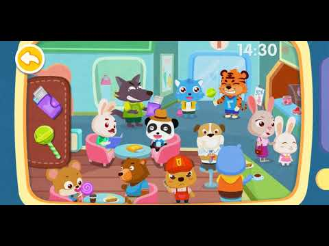 BABY PANDA'S BRAVE JOBS POLICE BabyBus Kids Game
