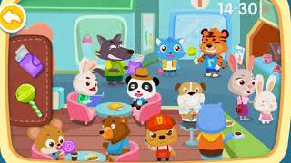 बाबी पांडा का जॉब जॉब पॉलिस बेबीबस किड्स गेम screenshot 4