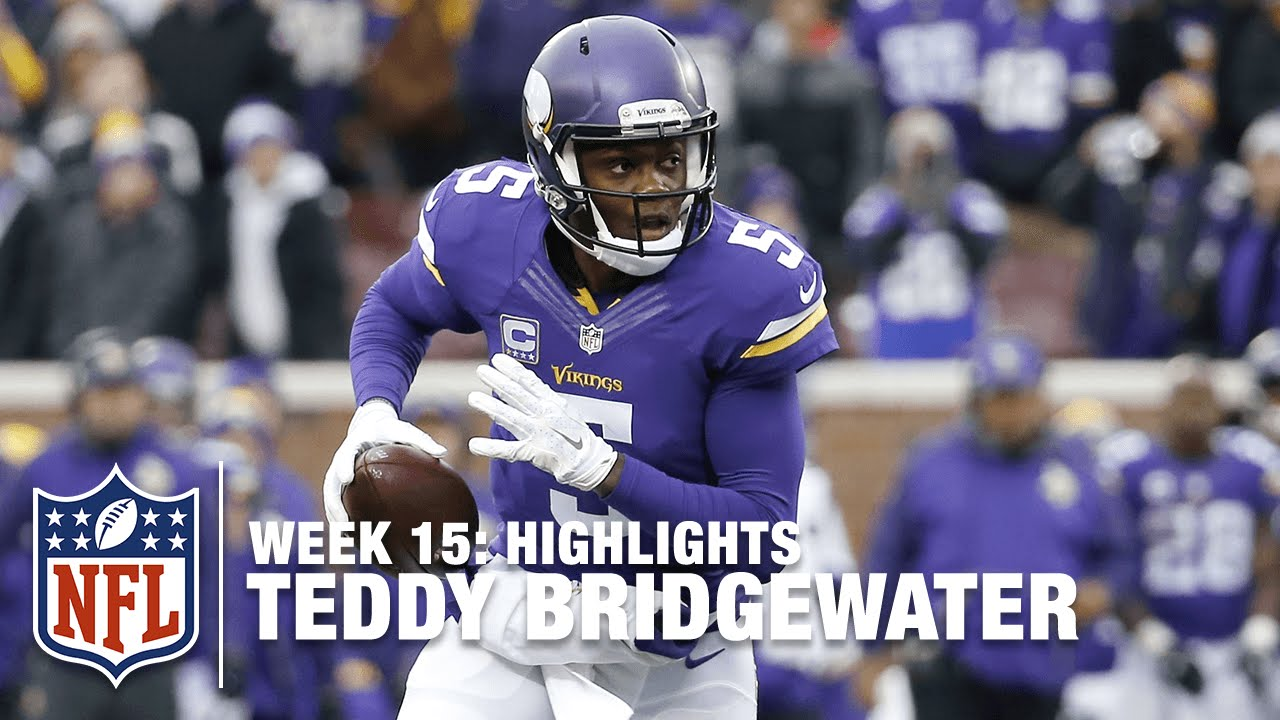 Teddy Bridgewater's 4 TD Day | Bears vs Vikings | NFL Week 15 highlight