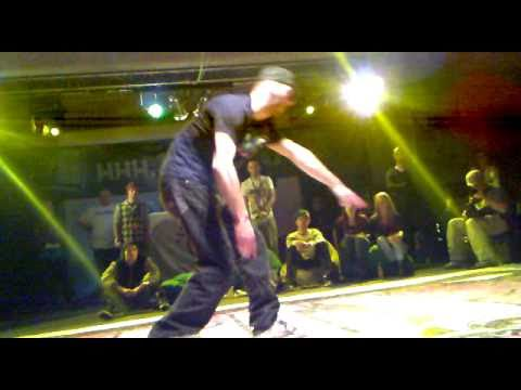 Semifinals Popping 2 - URBAN DANCE Funk Stylez Session 20.11.2010 Budapest, Hungary
