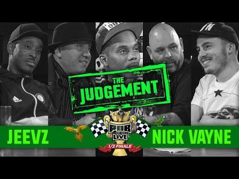 The Judgement: Jeevz vs Nick Vayne 1/2 Finale Punchoutbattles Live 2015/2017
