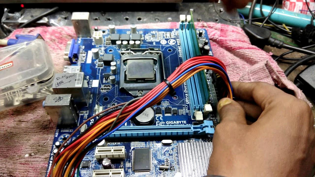 computer repairs #pc repair #no power motherboard repaired