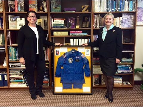 Flight suit finds new home at Zonta International Headquarters