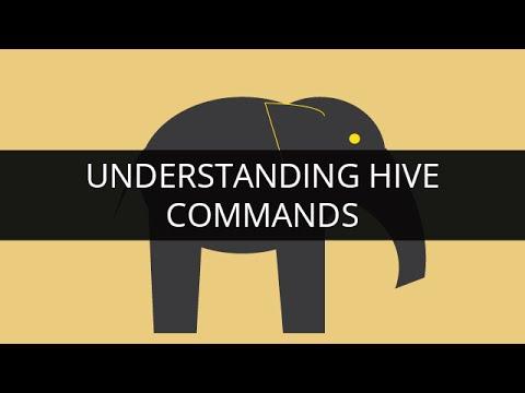 Understanding Hive Commands in Apache Hadoop   Edureka