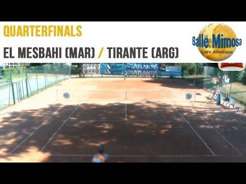 El MESBAHI (MAR) vs TIRANTE (ARG) Quarterfinals - Center court