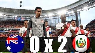 Australia vs Peru 0 - 2 All Goal  Highlights Resumen & Goals World Cup 26 6 18   World Cup