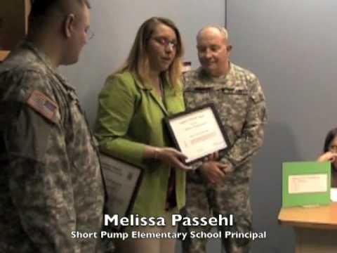 Short Pump Elementary School Recognition