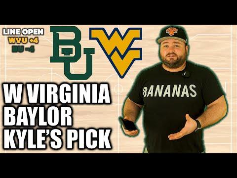 West Virginia vs Baylor Prediction   Free College Basketball Picks   NCAAB Bets ATS Kyle Kirms