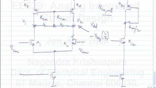 lecture 50 Fully differential opamps, common mode feedback