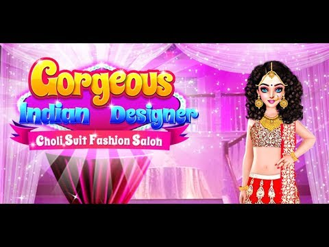 Gorgeous Indian Designer Choli Suits Fashion Salon Indian Makeover Gameplay Video By Gameicreate Youtube