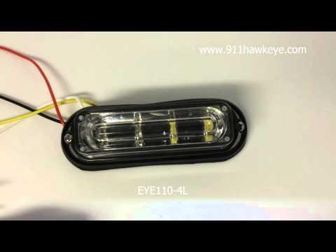 EYE110 4L   LED Warning Lights/Emergency LED Vehicle Strobe