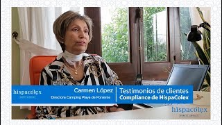 Testimonio Camping Playa Poniente Motril sobre el Compliance de HispaColex