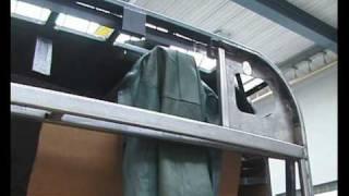 SOLARIS URBINO 12 Typ II / Buscrash im Depot Deutweg 1 / 2