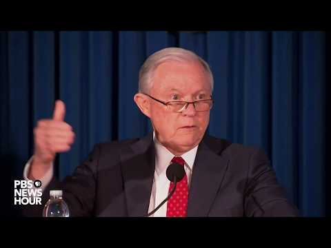 WATCH: Attorney General Jeff Sessions speaks about national security after NYC attack