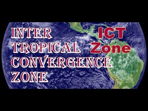 આંતર ઉષ્ણ કટિબંધીય અભિસરણ ક્ષેત્ર Inter Tropical Convergence Zone Geography of India@vasant teraiya