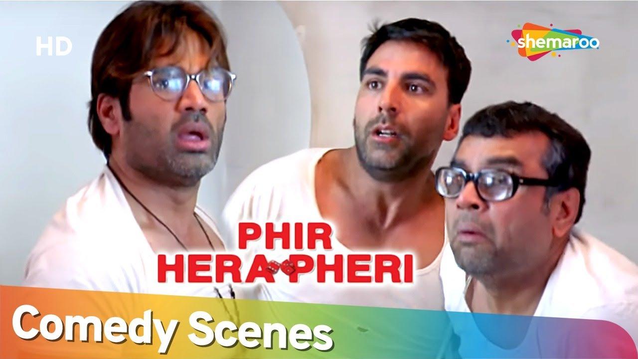 Download Phir Hera Pheri  | Most Popular Comedy Scenes | Paresh Rawal - Akshay Kumar - Suniel Shetty