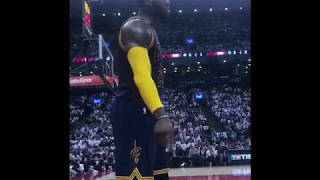 Lebron James to fan; You mad or nah?