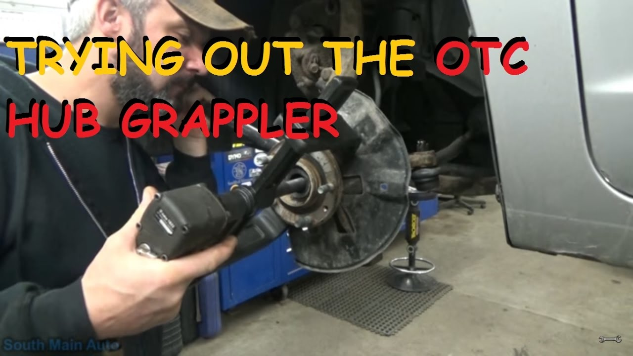 Ford Repair Shop >> Trying Out The OTC Hub Grappler 6575 Kit - YouTube