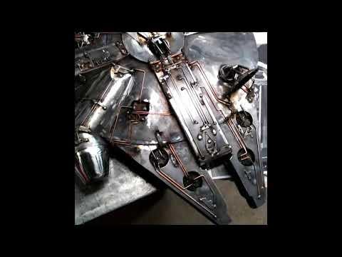 DIY Metal Sculpture How To by Certiflat & WeldTables com