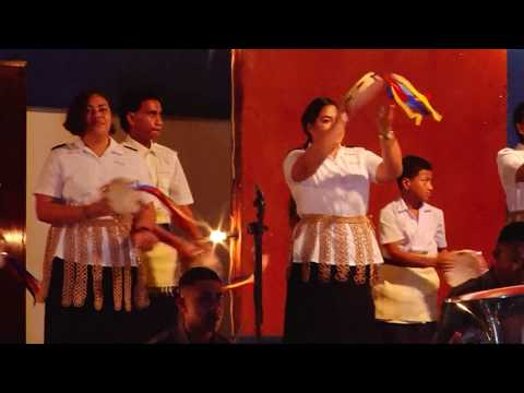 Salvation Army Tambourine Team -  Joint Brass Band Concert - Kingdom of Tonga