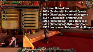 How to Get Geared up (845+) in Legion