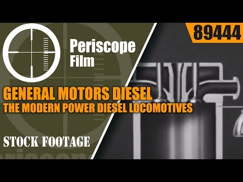 GENERAL MOTORS DIESEL: THE MODERN POWER  DIESEL LOCOMOTIVES BURLINGTON ZEPHYR 89444