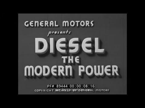 GENERAL MOTORS DIESEL: THE MODERN POWER  DIESEL LOCOMOTIVES BURLINGTON ZEPHYR 89444