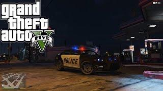 Gta5 : Trik modifikasi mobil polisi , jadi lebih keren .