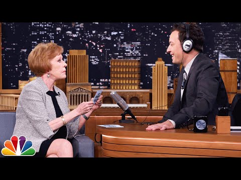 The Whisper Challenge with Carol Burnett