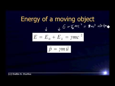 Physics123 Day 34 - Rest Mass, Energy, and General Relativity