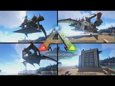 Top 4 Quetzal Platforms - Ark Survival Evolved