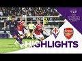 Fiorentina Women V Arsenal Women 0-4 | MATCH HIGHLIGHTS | UEFA Women's Champions League 1st Leg