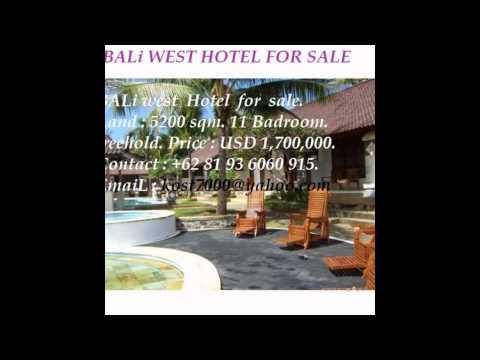 BALi  HOTEL FOR SALE