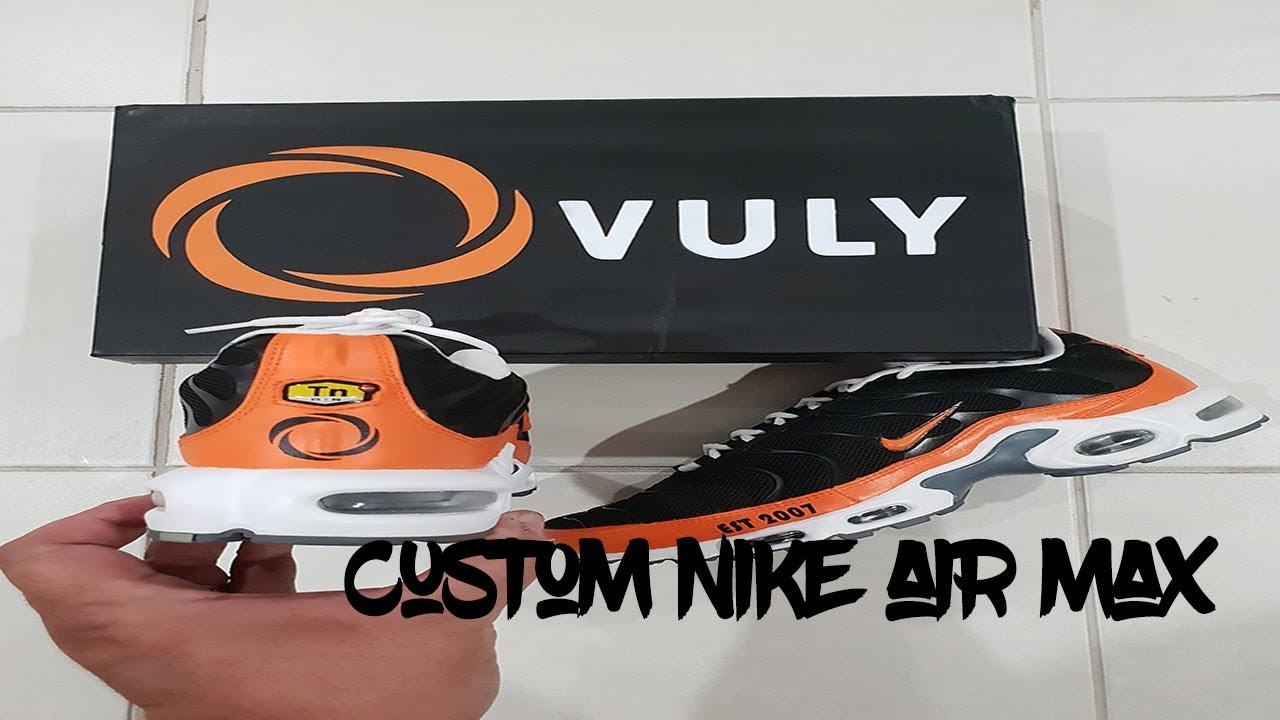 Custom Nike Air Max TN - YouTube