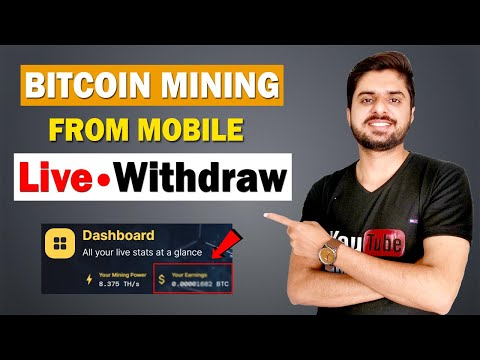 Bitcoin Cloud Mining Website Live Withdraw | Bitcoin Mining From Mobile | Majestyhash