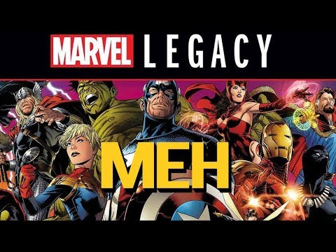 Marvel Legacy Whimpers Along