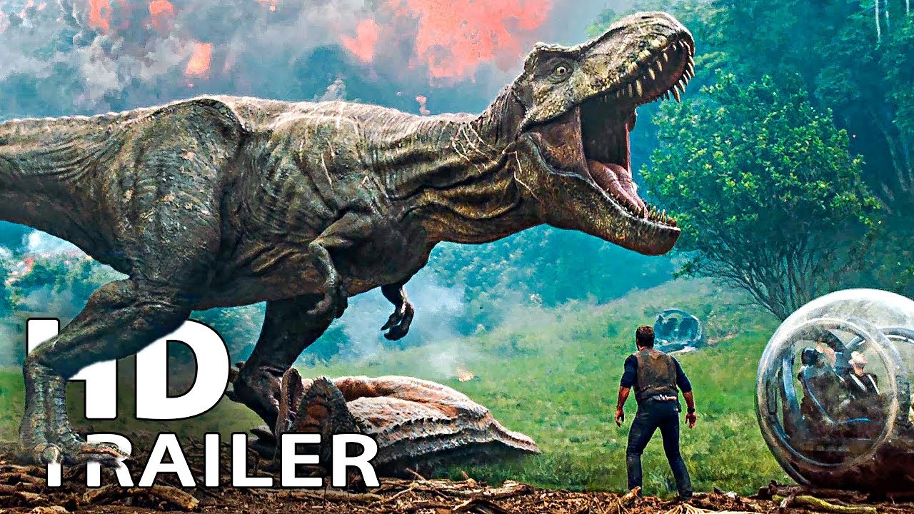 JURASSIC WORLD 2 Trailer (2018)
