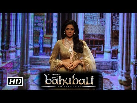 Sridevi in 'Baahubali: The Conclusion'